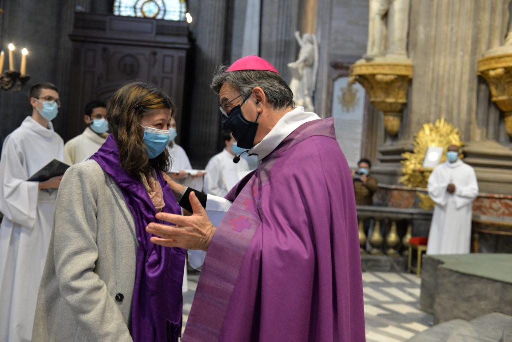 Appel décisif d'Aurélie, catéchumène de la paroisse